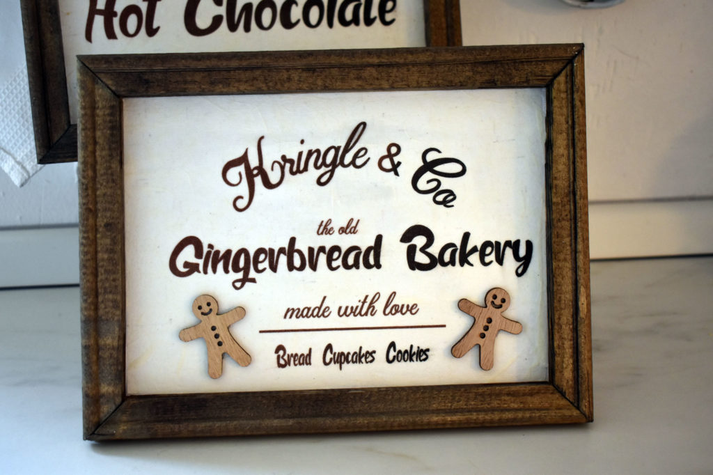 schild gingerbread bakery