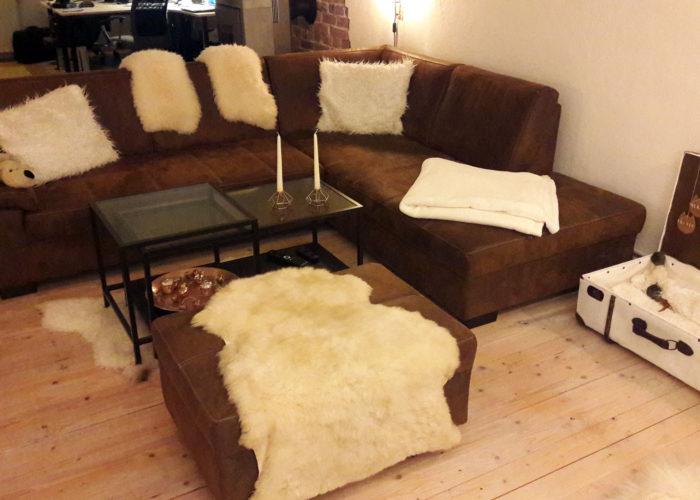 Unser neues Sofa ist da!