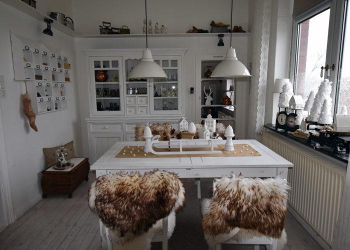 """Das Esszimmer im """"Winterkleid"""""""