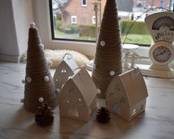 Wintertannenbäume DIY