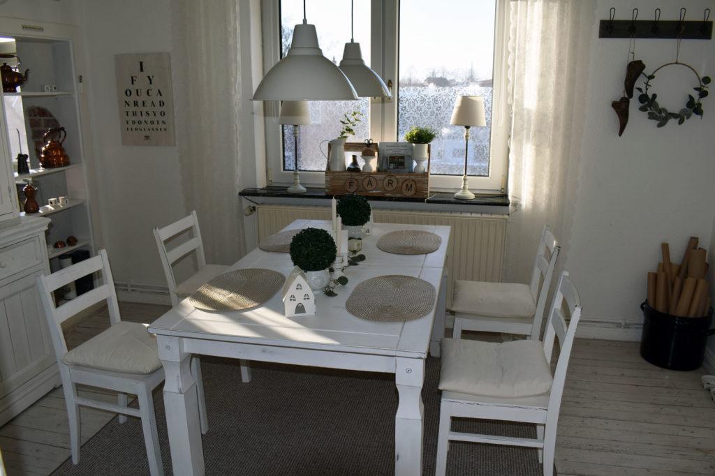 landhaus deko esszimmer