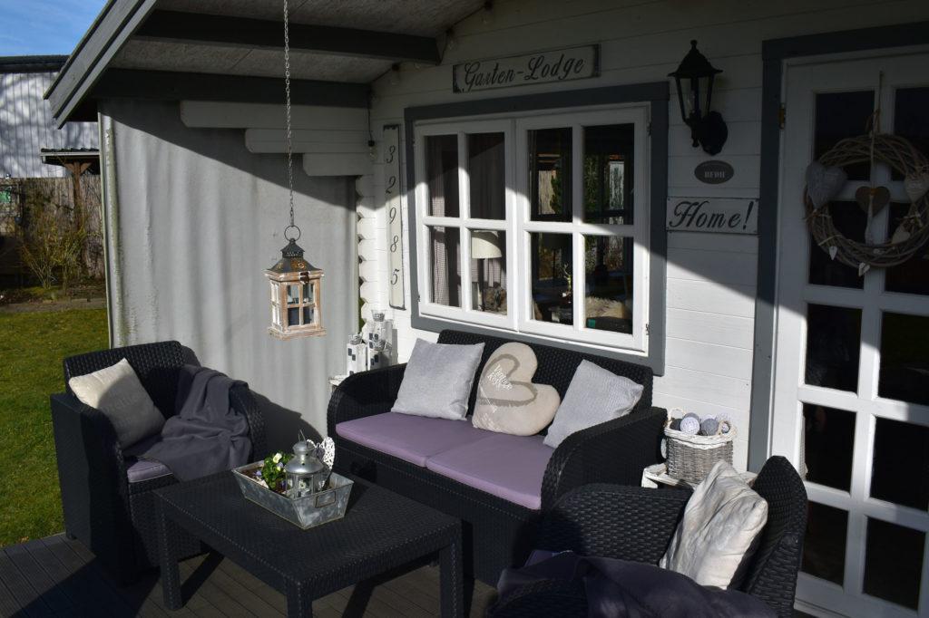 Gartenlodge Gartenhaus Landhaus