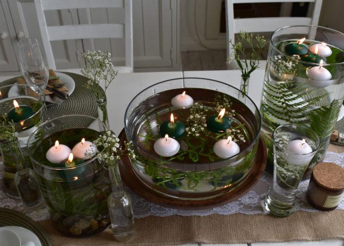 Sommerliche Tischdeko zum Geburtstag