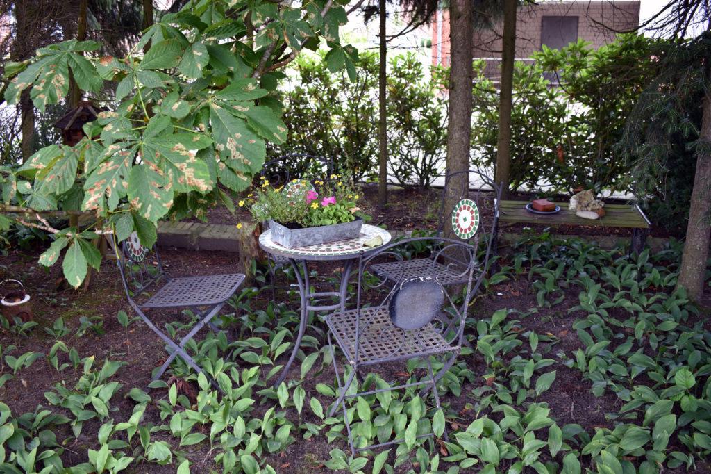 Sitzgruppe neu shabby landhausgarten