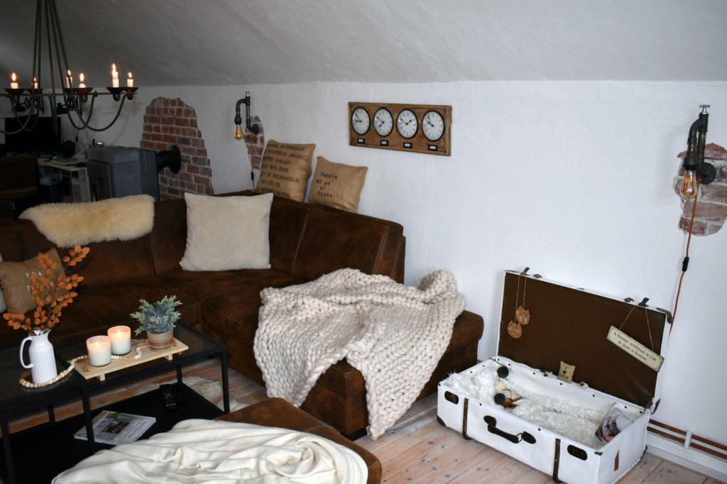 Wohnzimmer Farmhaus Landhaus cozy