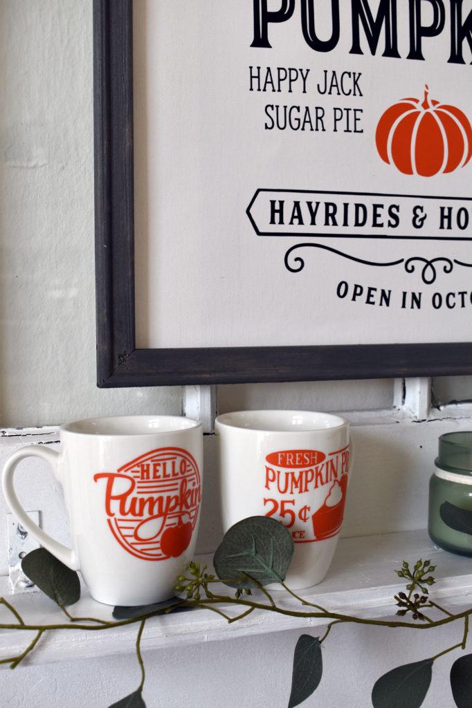 Herbstdeko Landhaus Farmhaus Shabby